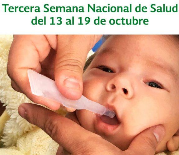 IMSS Poniente se suma a la tercera Semana Nacional de Salud 2018