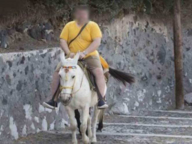 Turistas gordos no podrán montar burros en Grecia