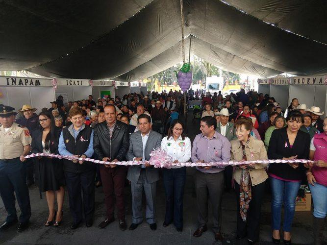 Ofrecen servicios médicos gratuitos en la feria de salud en Zinacantepec