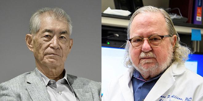 Reciben Nobel de Medicina Allison y Honjo por sus estudios contra el cáncer