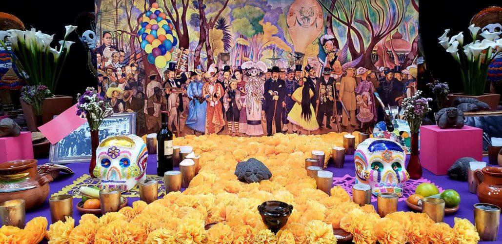 Presenta Fundación Ideas Libres A.C. ofrenda temática dedicada a Diego Rivera