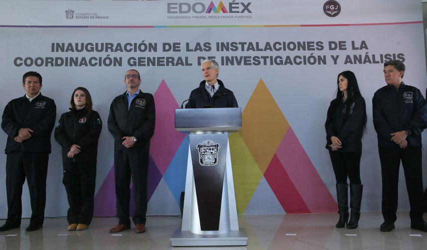 Es FGJEM una aliada para fortalecer la paz social y el orden institucional en Edoméx: Alfredo del Mazo