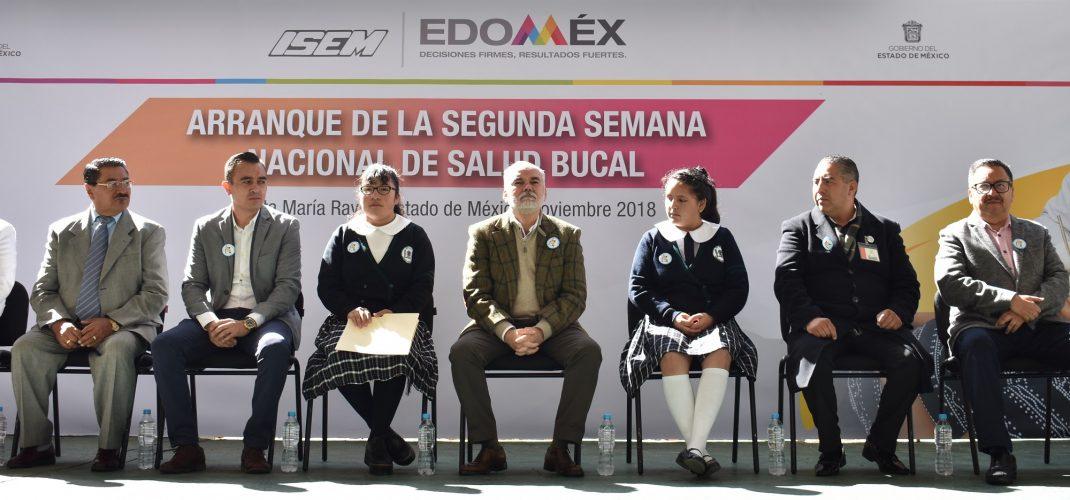 Dio inicio la Segunda Semana Nacional de Salud Bucal