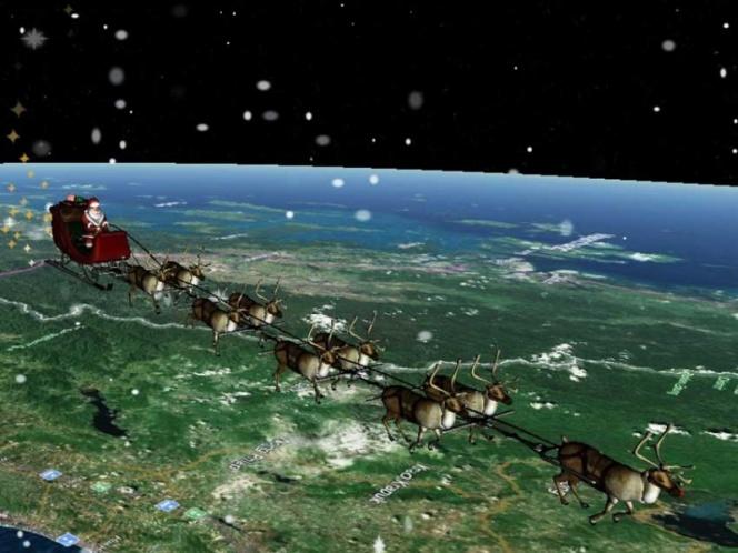 Sigue la ruta de Santa Claus a través de Google