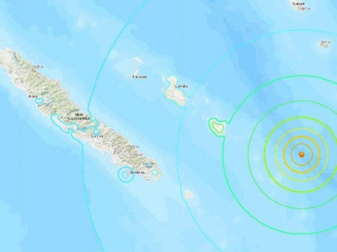 Sacude terremoto de 7.5 a Nueva Caledonia y activa alerta de tsunami