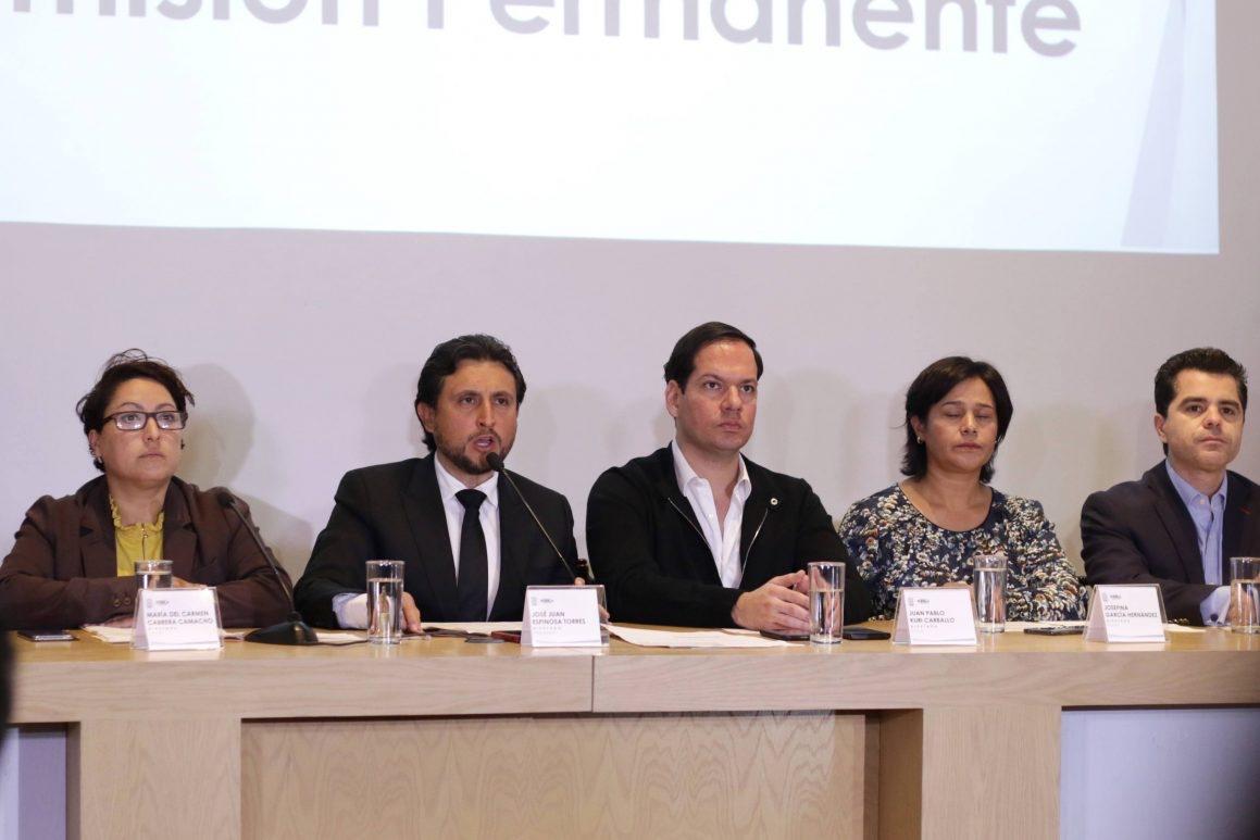 Morena, PES y PT prometen no usar su mayoría para ordenar gobernador interino de Puebla