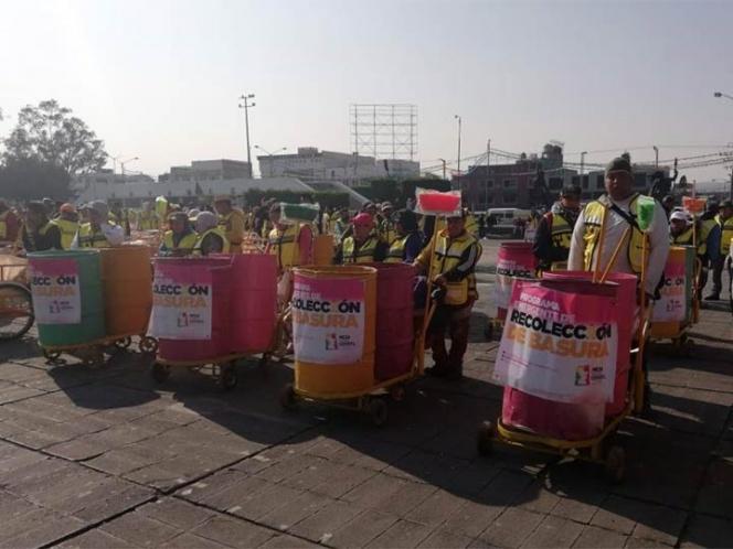 Triciclos recolectarán basura en Neza por desabasto de gasolina