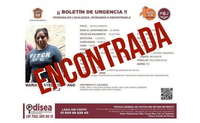 FALSO: Anayeli, la joven desaparecida en Toluca, no estaba embarazada