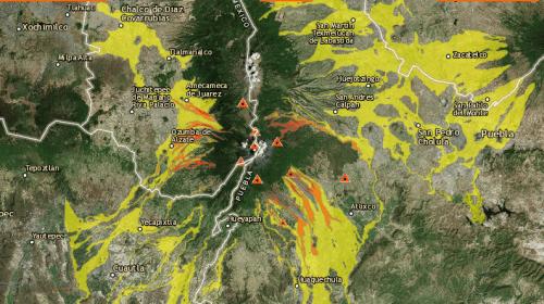 Atenta Conafor en la prevención de incendios cerca del Popo. Noticias en tiempo real