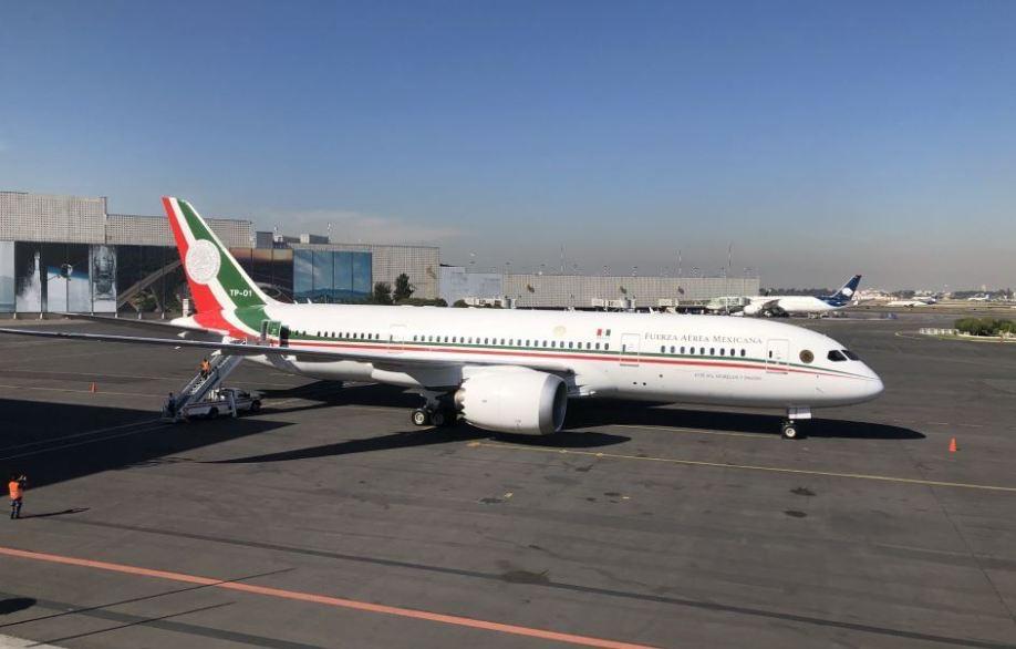La ONU hace publica la subasta del avión presidencial