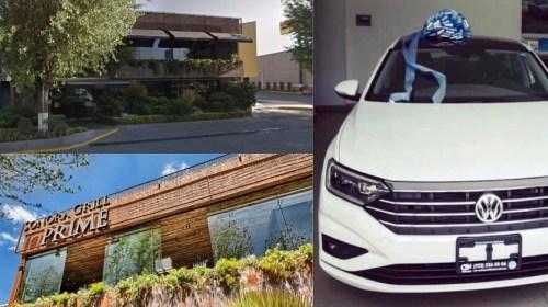 Roban auto de valet parking en Sonora Grill Prime Metepec. Noticias en tiempo real