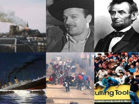 Desde Abraham Lincoln hasta la catedral de Notre Dame, son las tragedias que rodean al 15 de abril