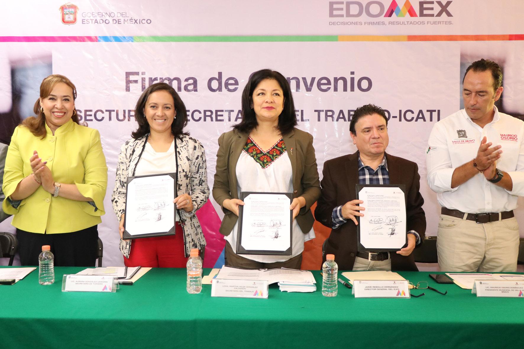 Firman Secretarías De Turismo y Trabajo convenio para capacitar a prestadores de servicios turísticos