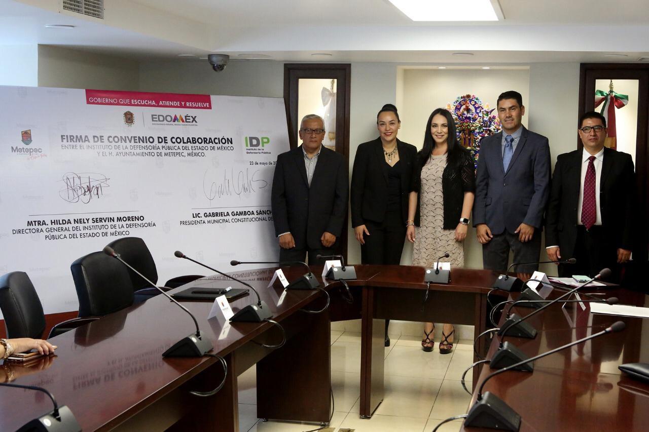 Servicios jurídicos gratuitos a metepequenses: Gaby Gamboa