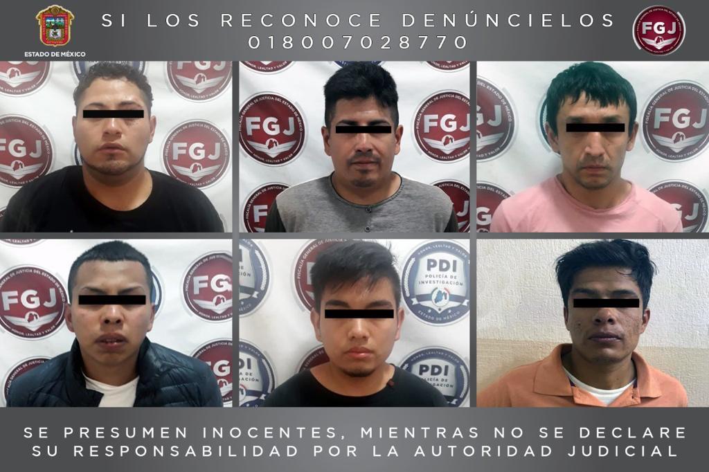 Rescatan a una persona y detienen a los secuestradores en Naucalpan (Vídeos)