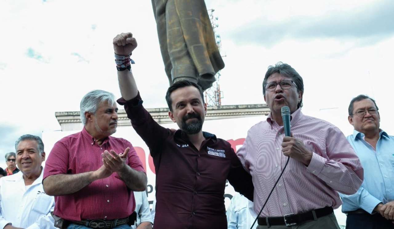 Ricardo Monreal ofrece recursos a Aguascalientes a cambio de votos