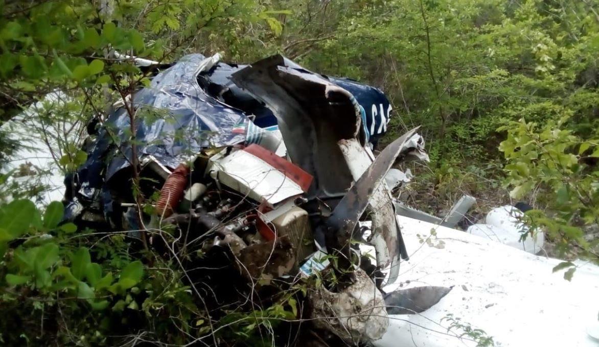 Se desploma avioneta en Quinta Roo, no hay sobrevivientes