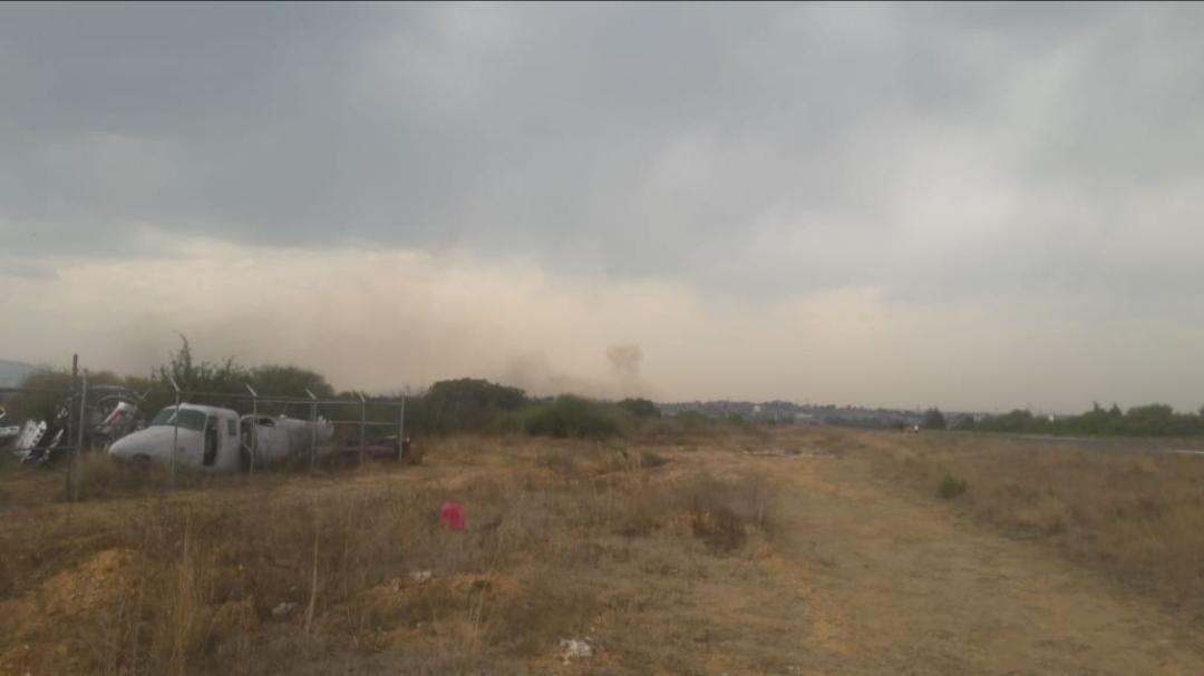 Cae avioneta en Atizapán, se reporta un muerto