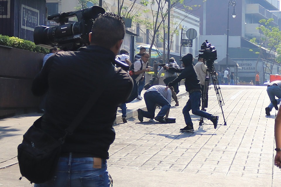 Empresario es asesinado a sangre fría frente a los medios en Cuernavaca