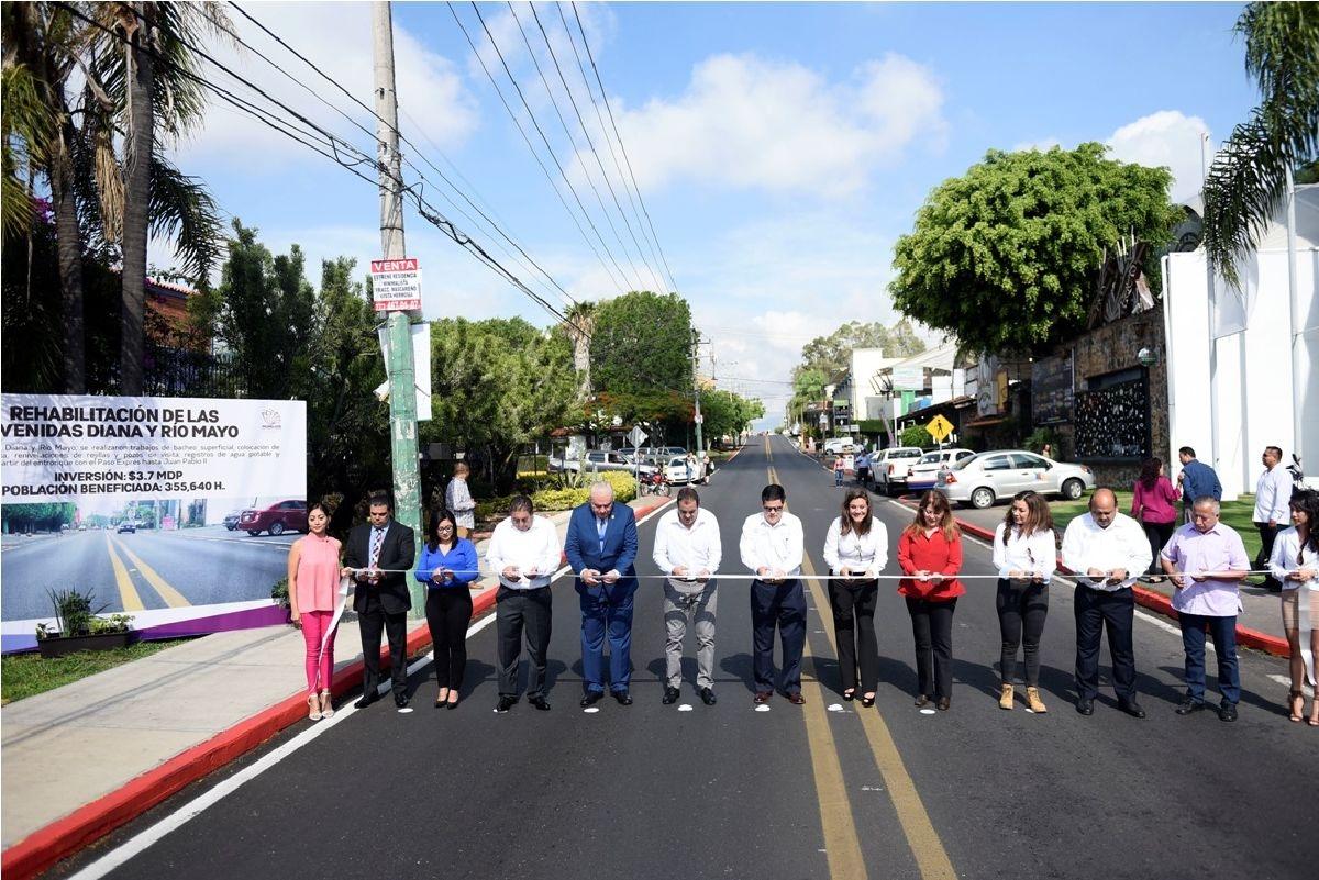 Inaugura Cuauhtémoc Blanco rehabilitación de vialidades en Cuernavaca