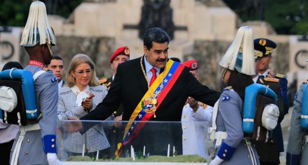 En el Día del Ejército en Venezuela, Nicolás Maduro