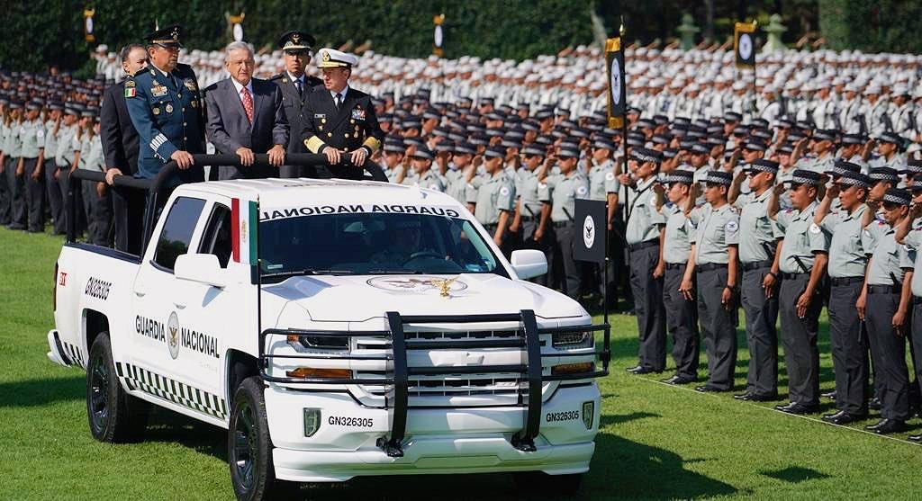 Entra en operaciones la Guardia Nacional