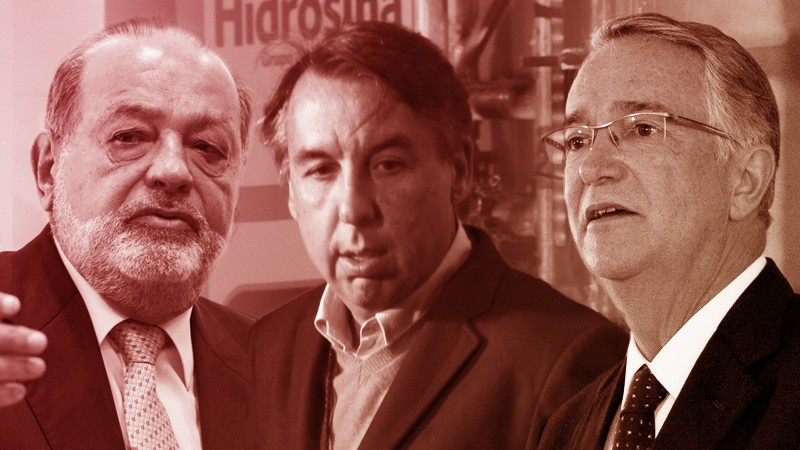 Slim, Salinas y Azcárraga obtienen licitaciones para dar servicio de internet a instituciones públicas