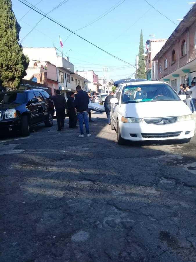 Balacera en calles de Naucalpan deja a tres lesionados