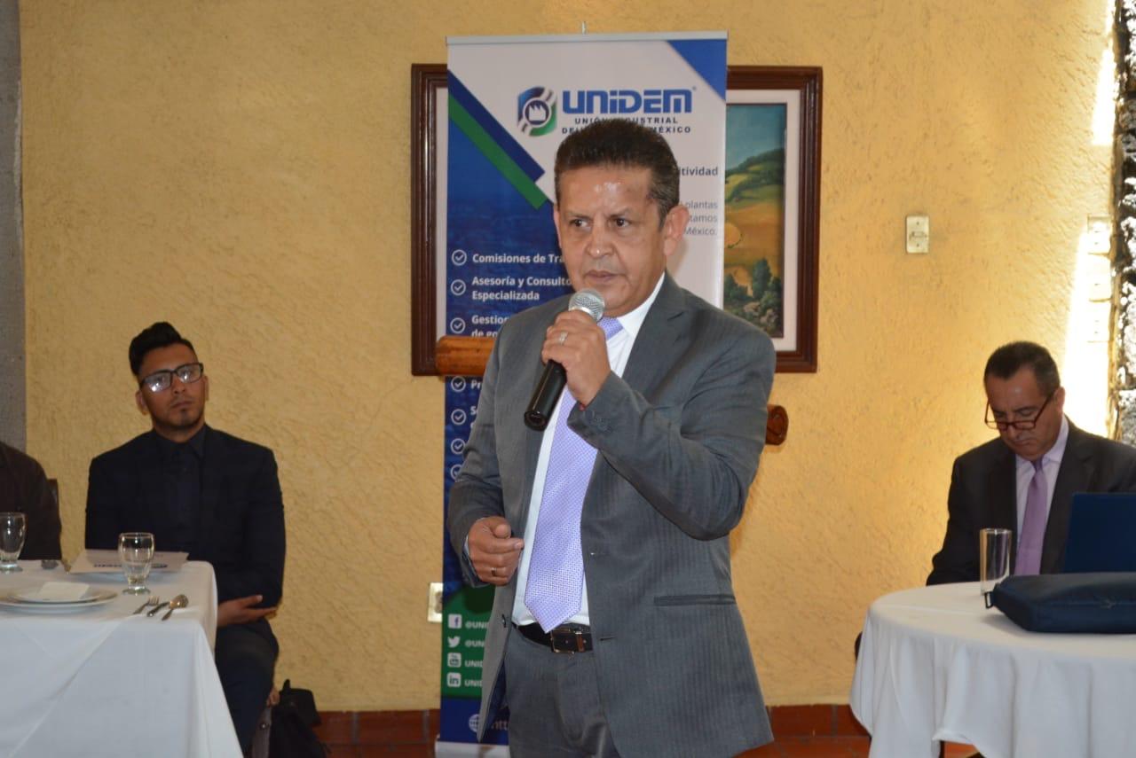 Expone Secretaria del Trabajo impacto de la reforma laboral en el sector empresarial ante integrantes de UNIDEM