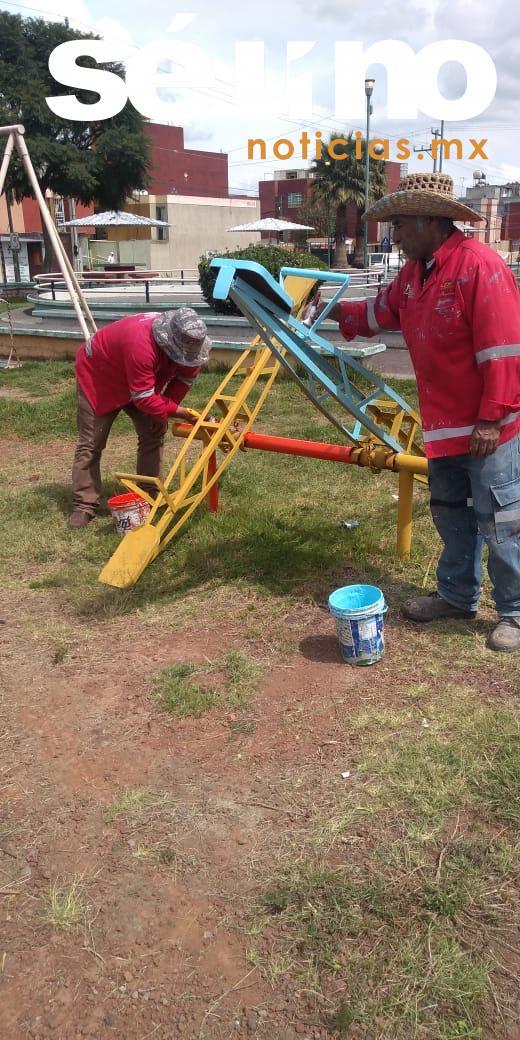 Rehabilitación integral de espacios públicos en Toluca