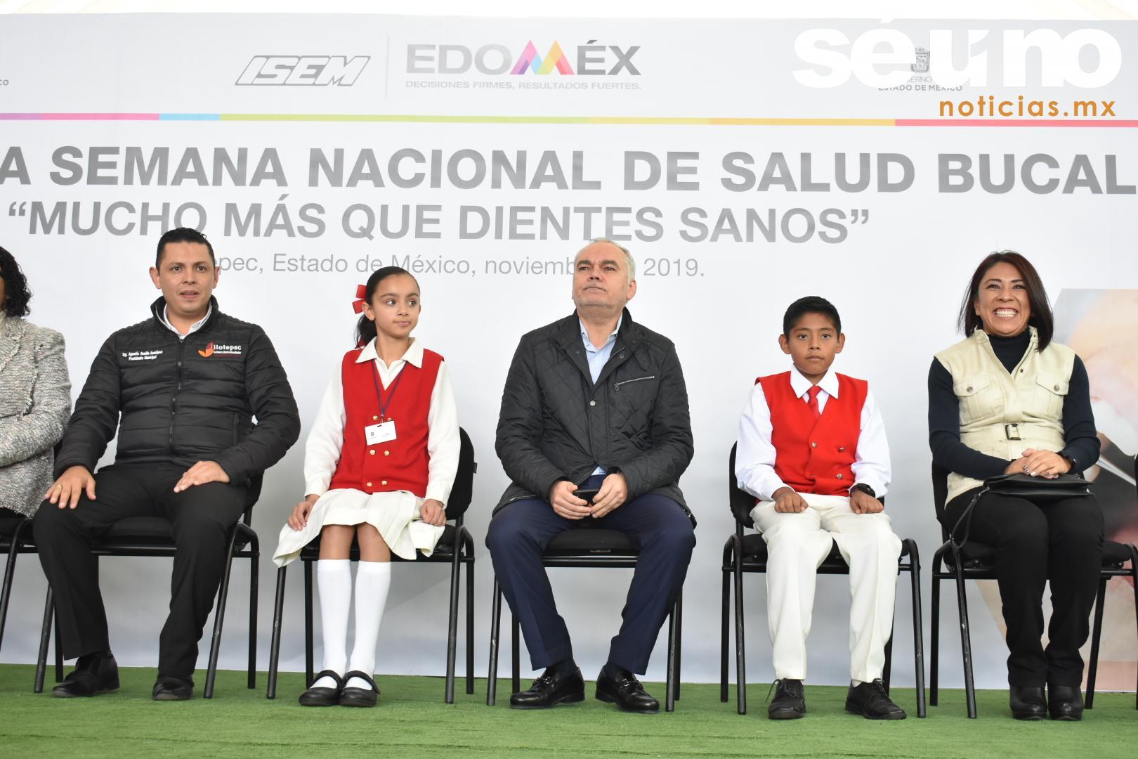 Inicia en Edoméx Segunda Semana Nacional de Salud Bucal
