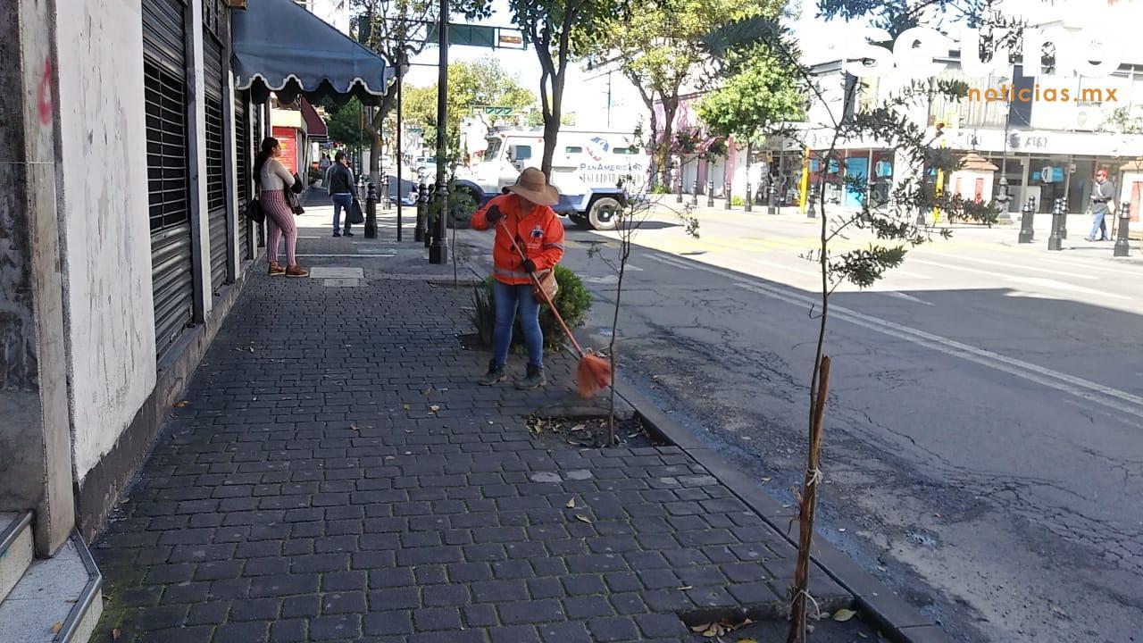 Implementan operativo de limpieza durante el Día de Muertos