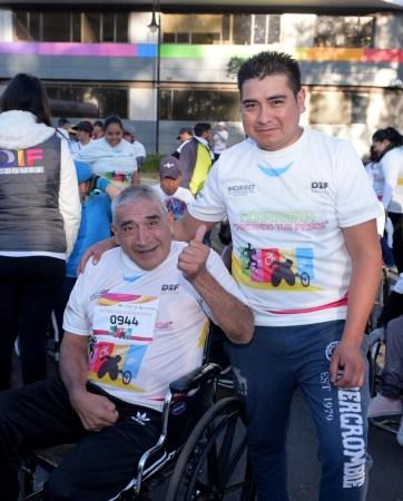 Más de mil 500 mexiquenses participaron en Caminata-Carrera por la Discapacidad
