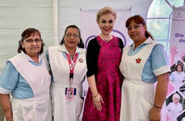 Es voluntariado del ISEM columna para los servicios de salud