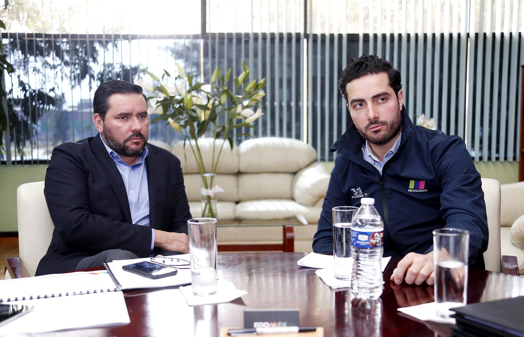 Signa SEDUC convenio de colaboración con el Sistema de Radio y Televisión Mexiquense
