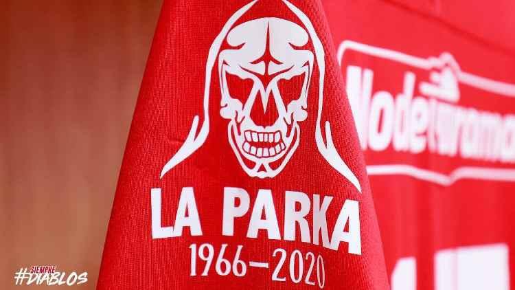 Toluca F.C. rindió homenaje a la Parka