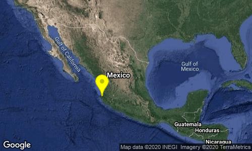 Sismo de 4.2 sacude Puerto Vallarta esta madrugada