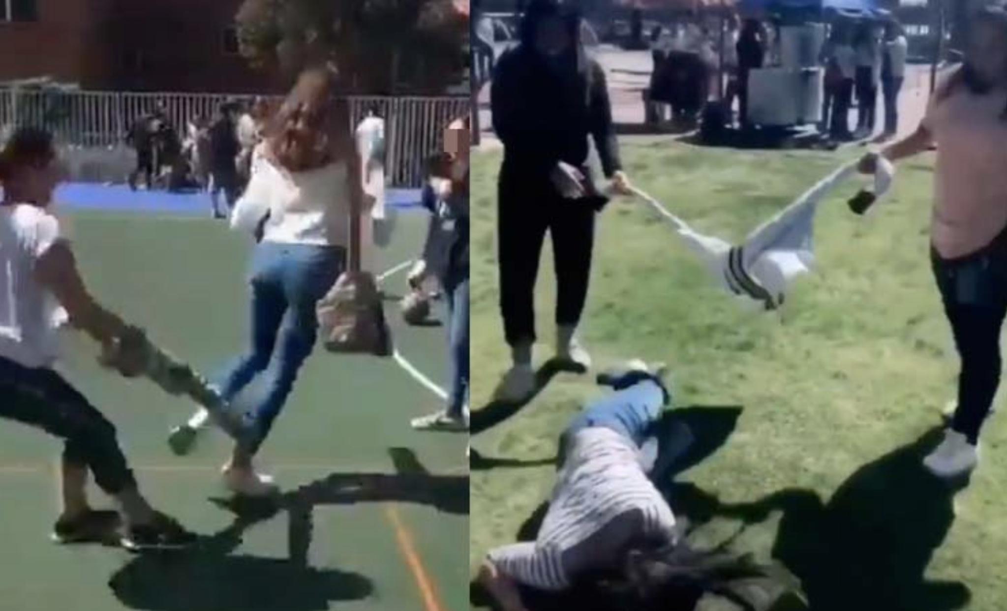 VIDEO: Alertan por peligrosa broma viral entre jovencitas en escuelas de Toluca