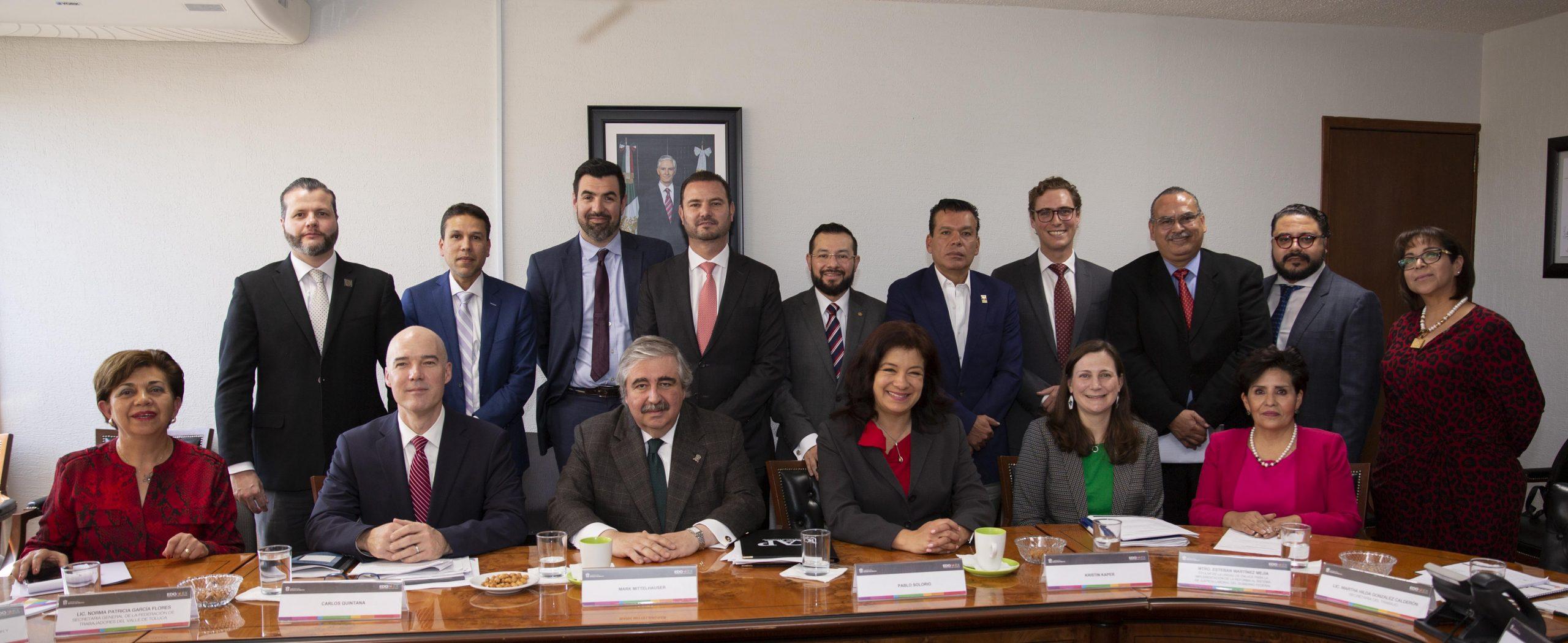 Edomex, en el primer grupo de la reforma laboral por su coordinación con el sector productivo