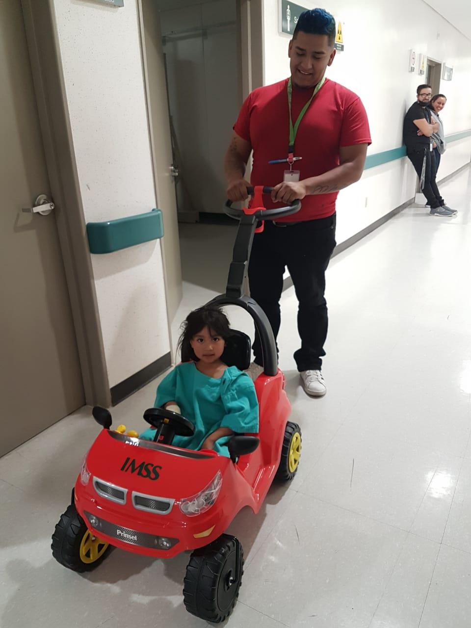 """Implementa IMSS  estrategia """"Llegar con estilo al quirófano"""" para pacientes pediátricos"""