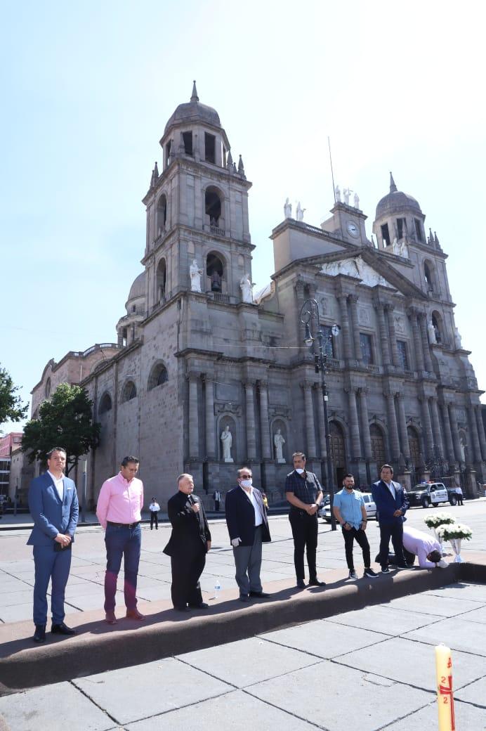 En un acto de fe, se unen líderes de las diferentes comunidades religiosas por Toluca