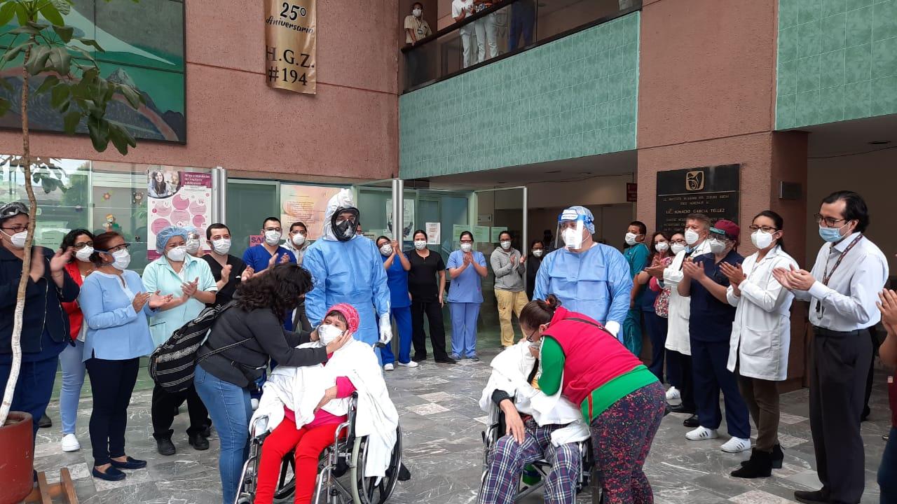 Se recuperan 400 pacientes de Covid 19 en el Hospital General de Zona No. 194