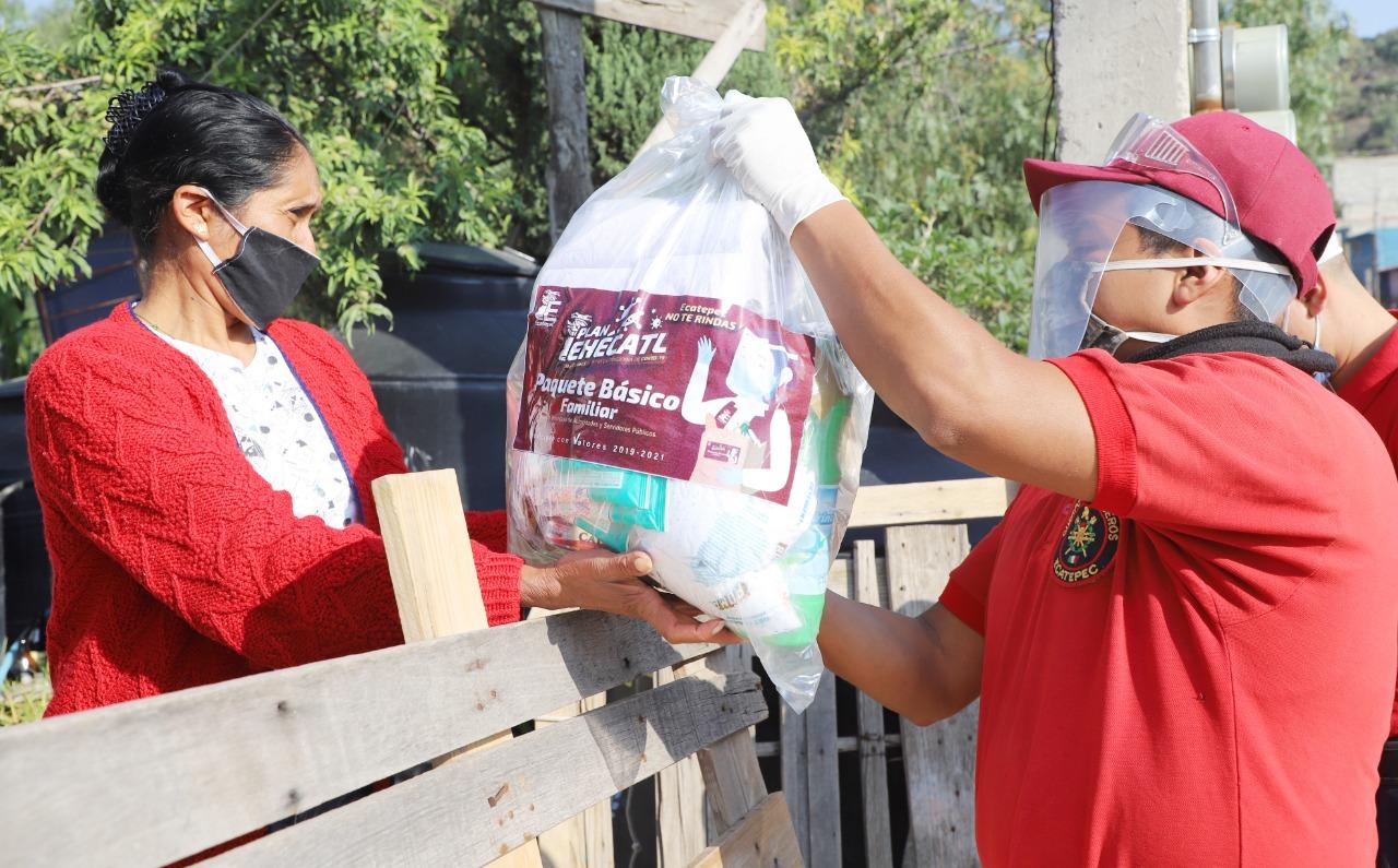 Aprueban entregar 100 mil despensas y 150 mil kits de salud a familias  en Ecatepec