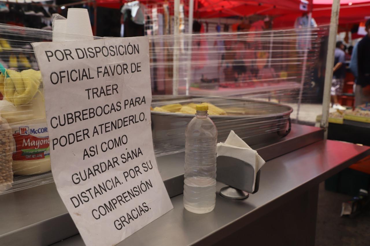 Ecatepec estableció medidas sanitarias a 308 tianguis