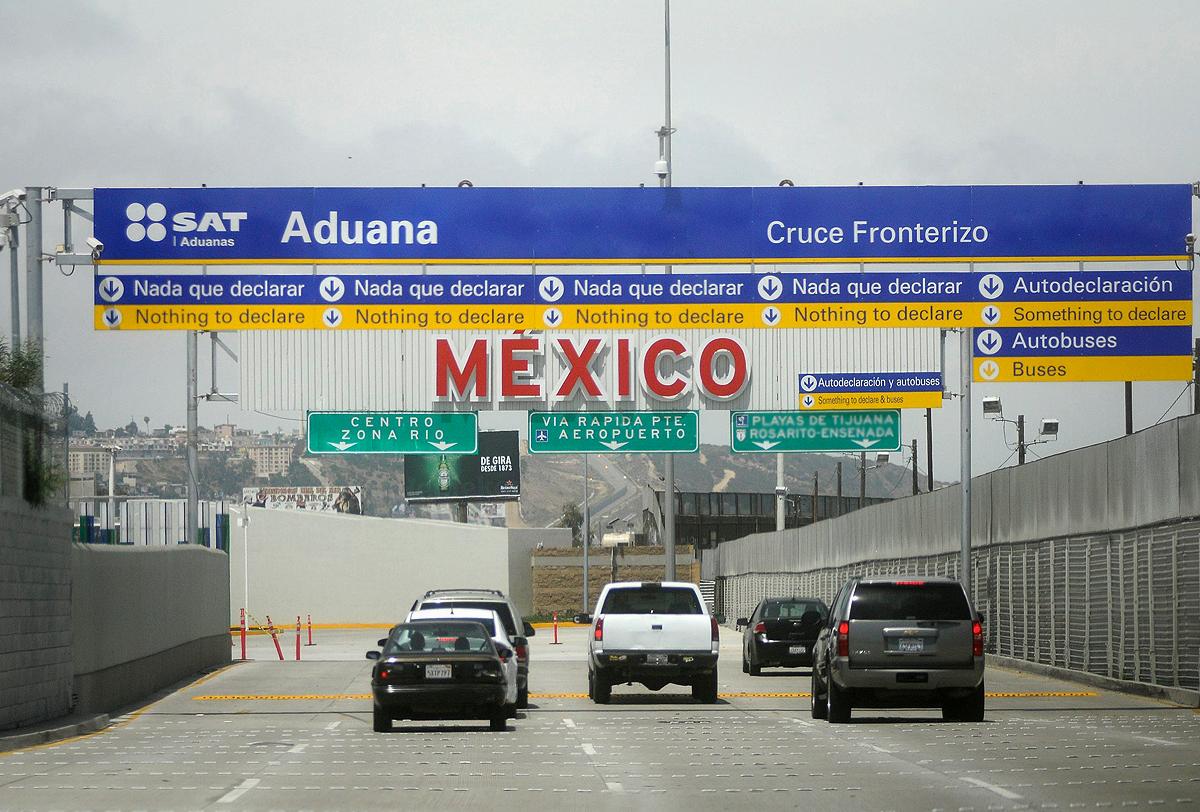 SAT decomisa metanfetaminas y marihuana con valor aproximado de 3.5 mdd en la Aduana de Tijuana