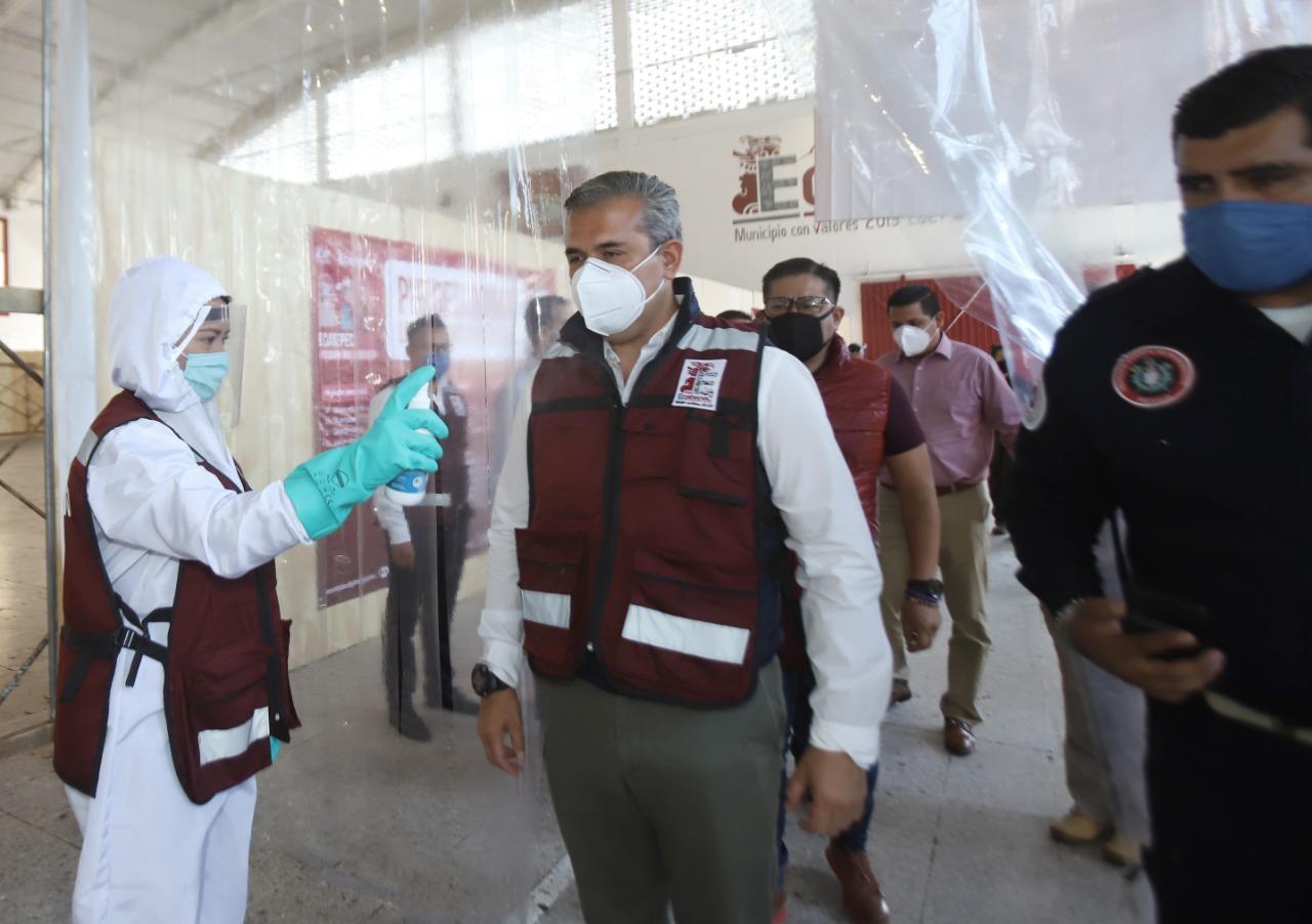 Anuncian creación de célula especial contra Covid-19 en Ecatepec; se encargará de vigilar que se cumplan medidas sanitarias