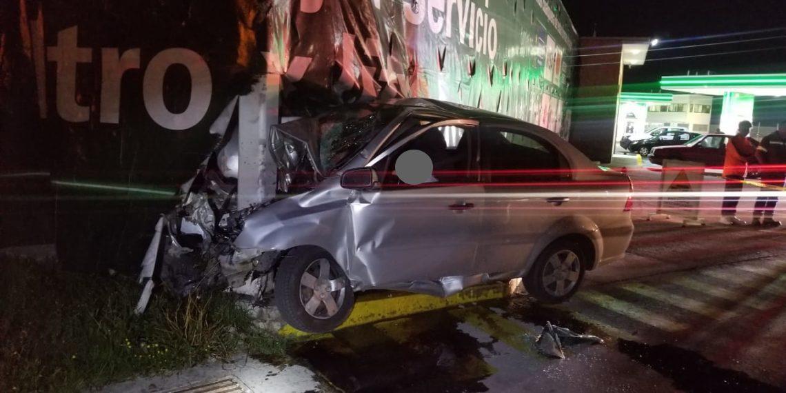 Joven pierde el control y muere en la Toluca - Atlacomulco