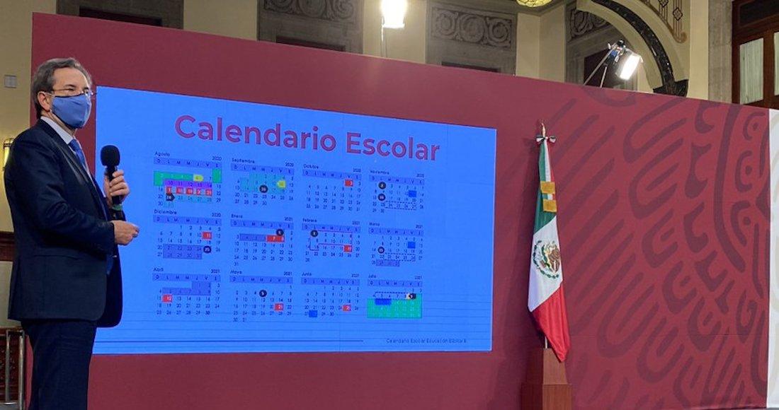 Da a conocer la SEP el calendario escolar 2020-2021
