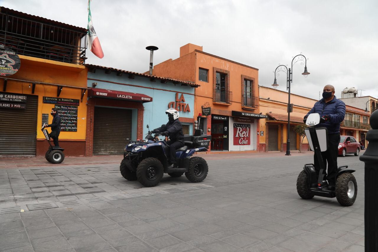 En Metepec opera grupo de apoyo a turistas reactivando economía con seguridad