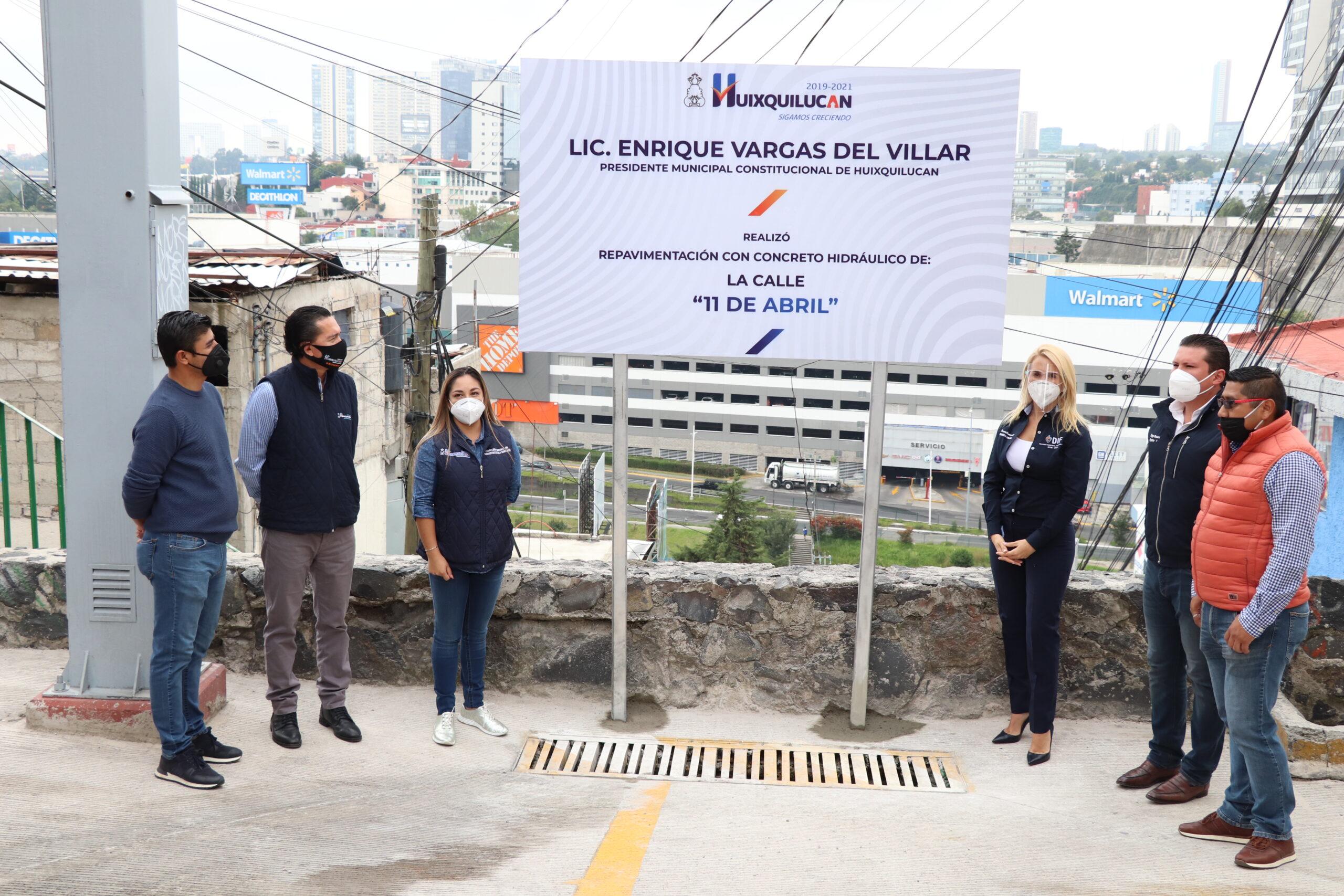 Trabajo en equipo permite obras de impacto en las comunidades de Huixquilucan